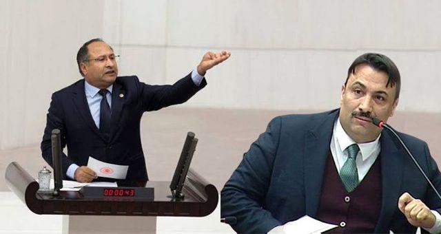 Genel Kurul'da AK Parti ve CHP'li Roman vekiller arasında