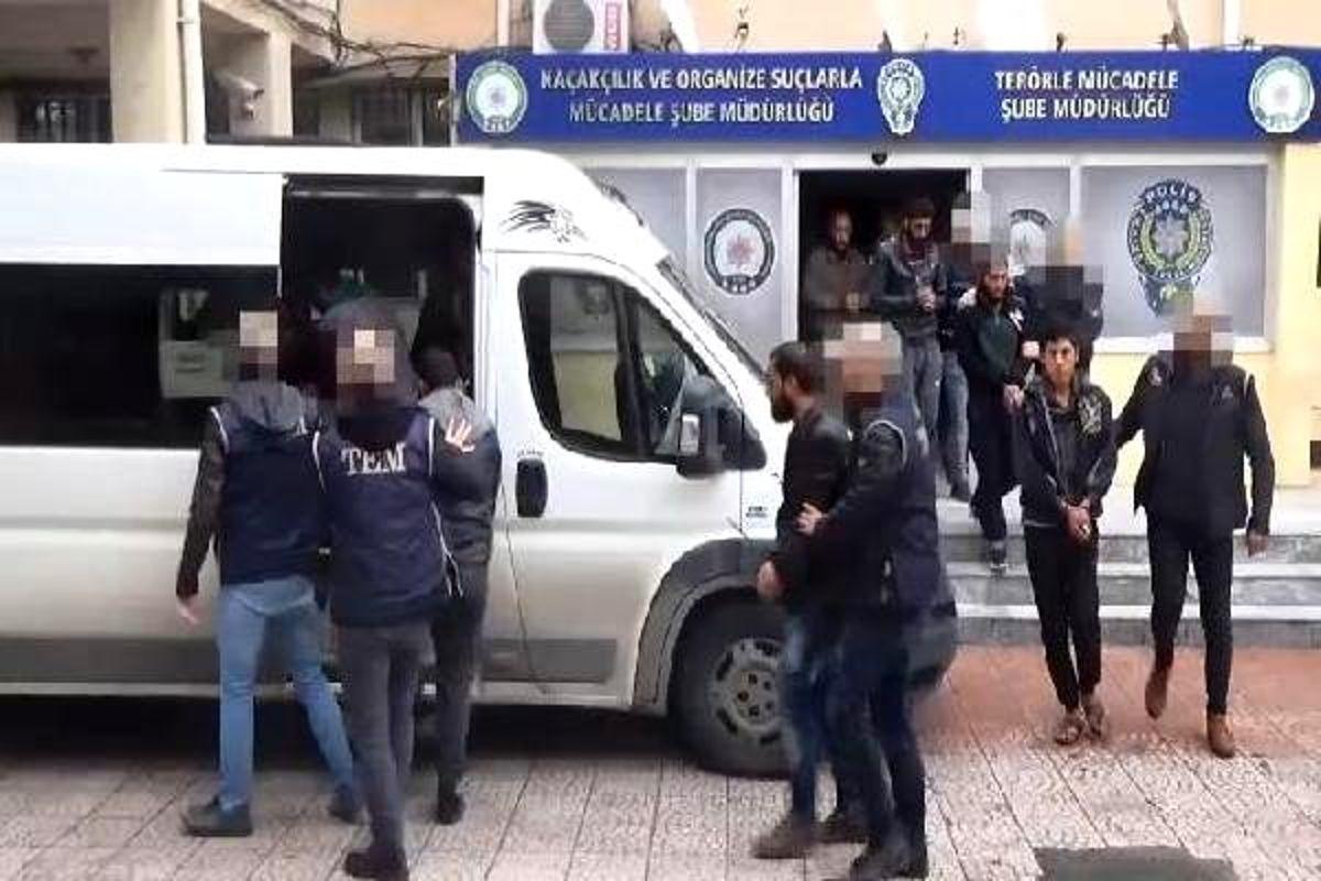Şanlıurfa'da terör operasyonuna 8 tutuklama