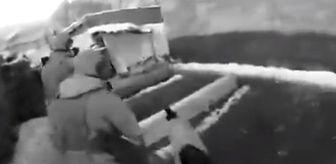 Ağrı'da askerlerle, teröristlerin sıcak çatışmaya girdiği anlar ortaya çıktı
