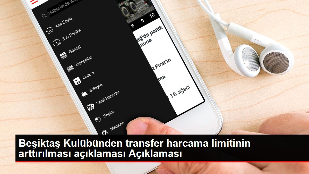 Beşiktaş Kulübünden transfer harcama limitinin arttırılması açıklaması Açıklaması