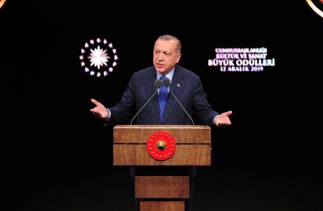 Cumhurbaşkanlığı Kültür Sanat Büyük Ödülleri sahiplerini buldu