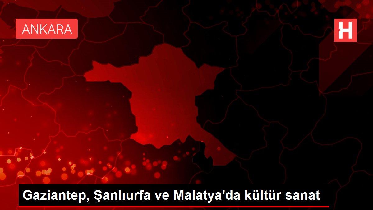 Gaziantep, Şanlıurfa ve Malatya'da kültür sanat