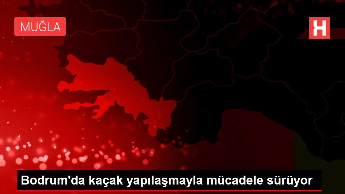 Bodrum'da kaçak yapılaşmayla mücadele sürüyor