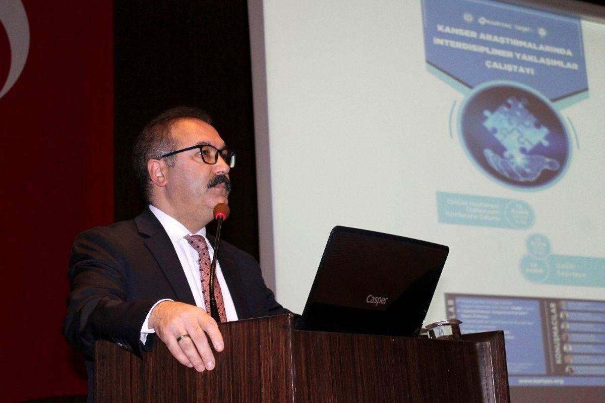 GAÜN'de kanser araştırmalarında interdisipliner yaklaşımlar çalıştayı