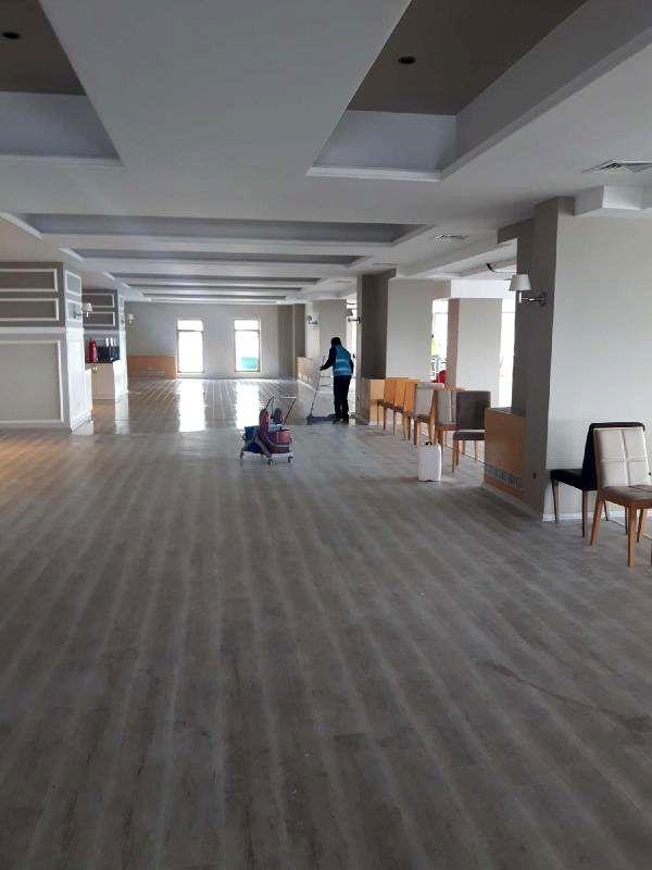 Uludağ Polis Evi'ni hükümlüler temizledi