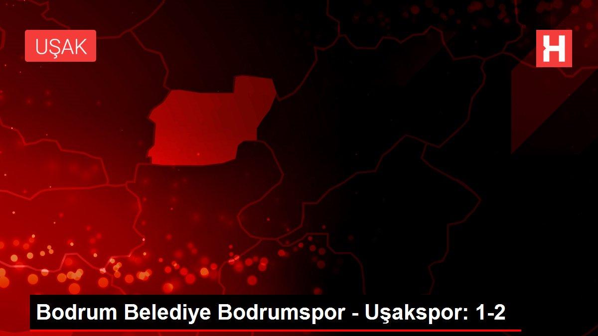 Bodrum Belediye Bodrumspor - Uşakspor: 1-2