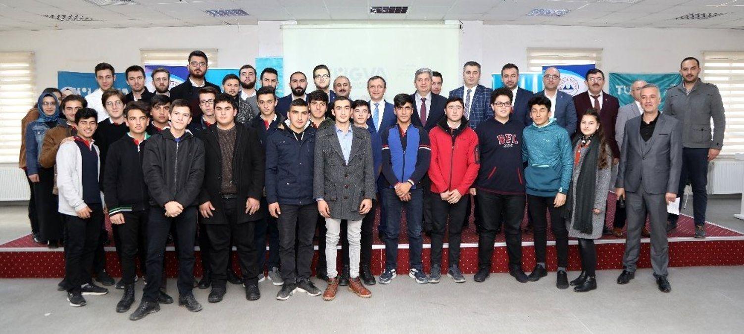 ERÜ Rektörü Çalış, Bünyan'da Öğrenciler ile Bir Araya Geldi