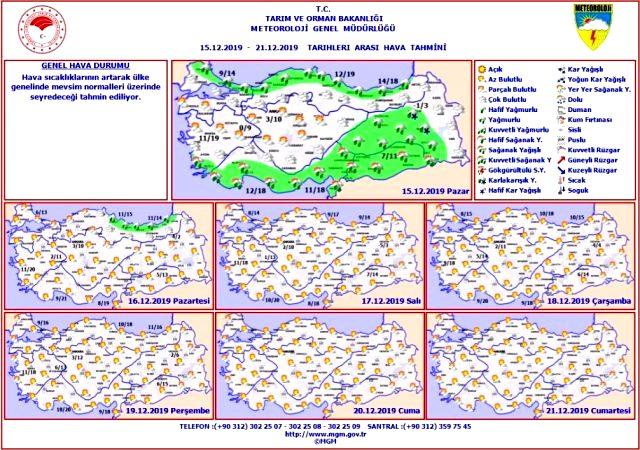 Meteoroloji'den Uyarı Geldi » Sungurlu Haber