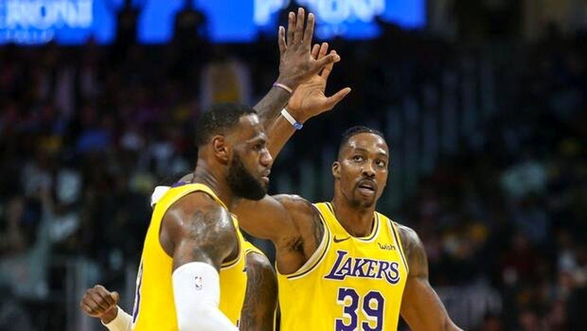 NBA'de gecenin sonuçları | Lakers'ın deplasmanda galibiyet serisi 14 maça çıktı!