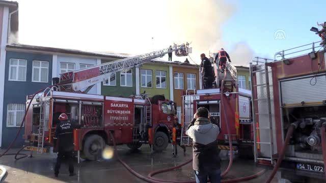 Okulda çıkan yangın kontrol altına alındı