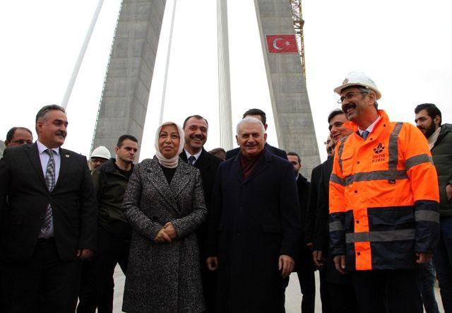 Binali Yıldırım: 'Bu proje Türk mühendislerin alın terinin ürünüdür'