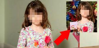 Küçük kızın aldığı Noel kartında, Çin hapishanesinden 'zorla çalıştırılma' mesajı çıktı