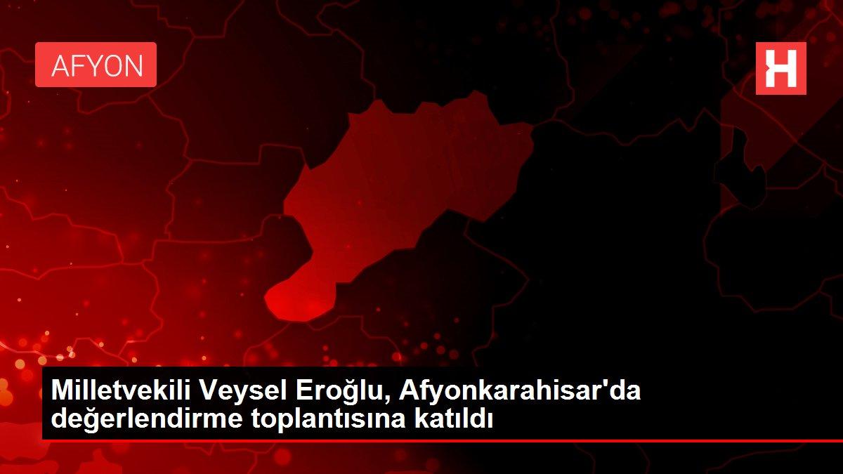 Milletvekili Veysel Eroğlu, Afyonkarahisar'da değerlendirme toplantısına katıldı