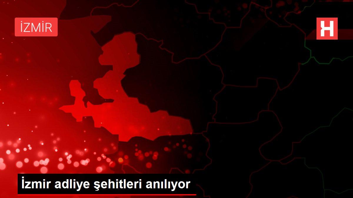 İzmir adliye şehitleri anılıyor