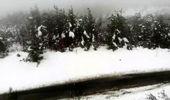 Çatma Dağı, beyaza büründü