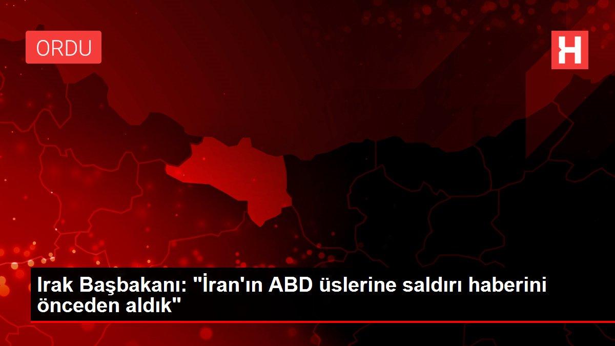 Irak Başbakanı: