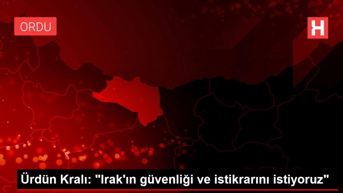 Ürdün Kralı: