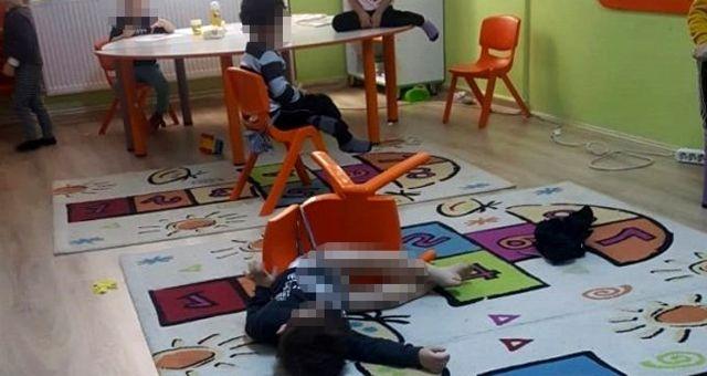 Bilecik'te bir özel anaokulunda çekilen fotoğraflar, kenti ayağa kaldırdı