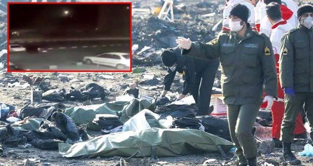 İran'da Ukrayna uçağını düşüren füzeye ait yeni görüntüler ortaya çıktı