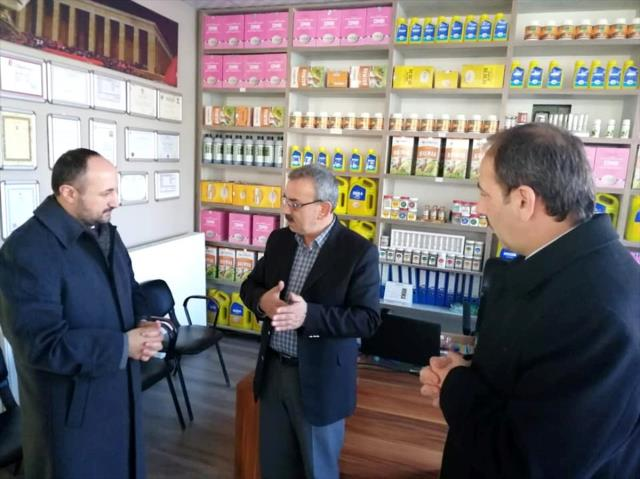 AK Parti Kayseri Milletvekili Karayel'den Tomarza'ya ziyaret