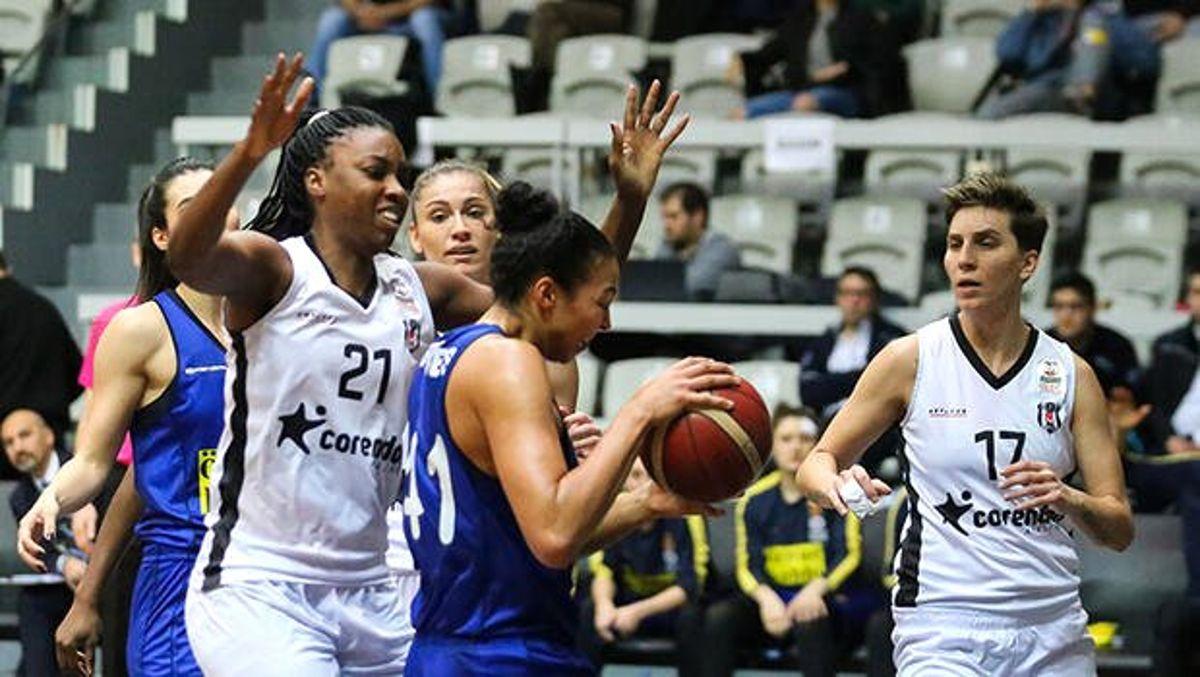 Beşiktaş TRC İnşaat 58-75 Fenerbahçe Öznur Kablo