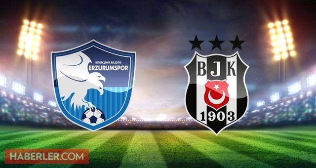 Erzurumspor Beşiktaş maçı ne zaman, saat kaçta, nerede? Ziraat Türkiye Kupası Erzurumspor Beşiktaş hangi kanalda? Beşiktaş maçı şifresiz mi?