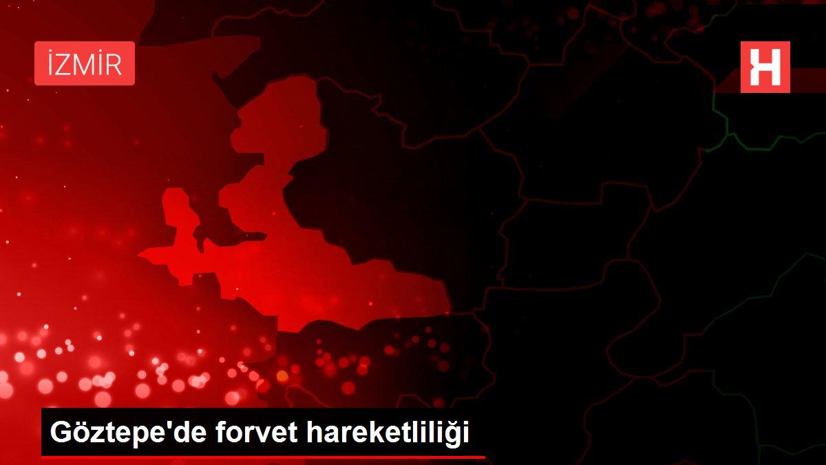 Göztepe'de forvet hareketliliği