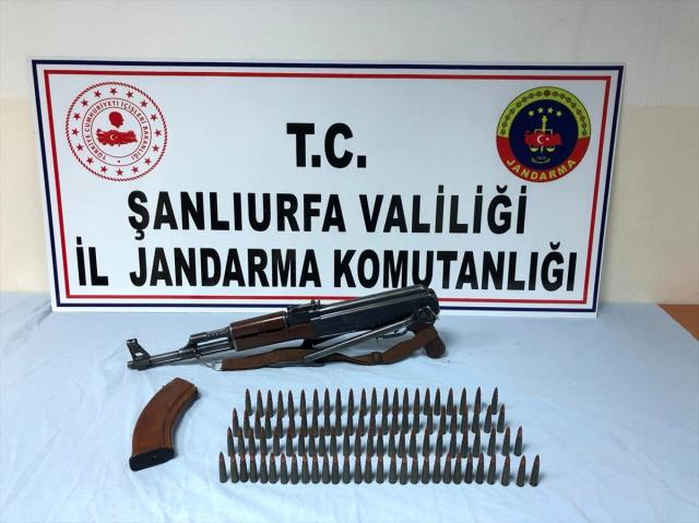 Şanlıurfa'da uyuşturucu ve silah kaçakçılığı operasyonunda 6 tutuklama