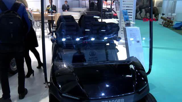 Antalya yüzde 100 elektrikli, yüzde 85 yerli yeni nesil hizmet aracı, fuarda görücüye çıktı