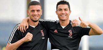 Ronaldo'nun Merih'i kanatlarının altına alması İtalyanların dikkatini çekti
