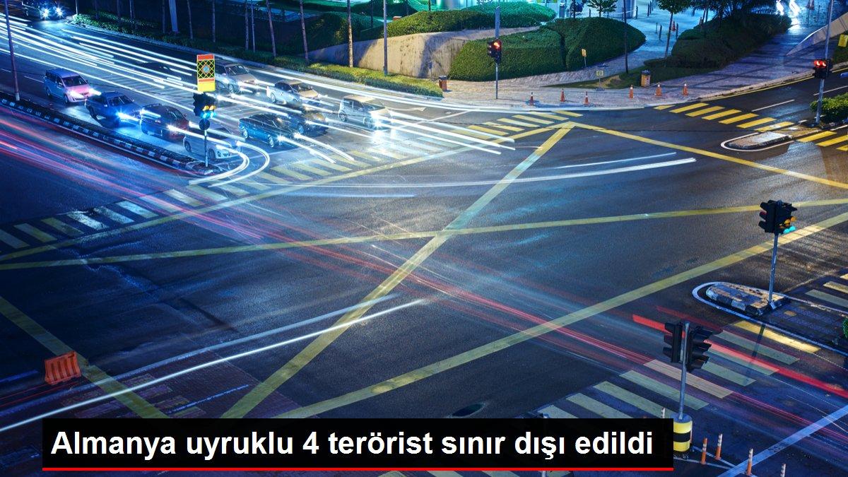 Almanya uyruklu 4 terörist sınır dışı edildi