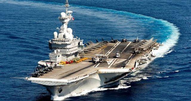 Fransa, Ortadoğu'ya uçak gemisi yolluyor