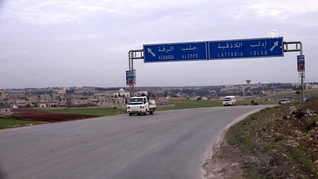 İdlib Gerginliği Azaltma Bölgesi'nde yaklaşık 13 bin sivil daha yerinden edildi (1)