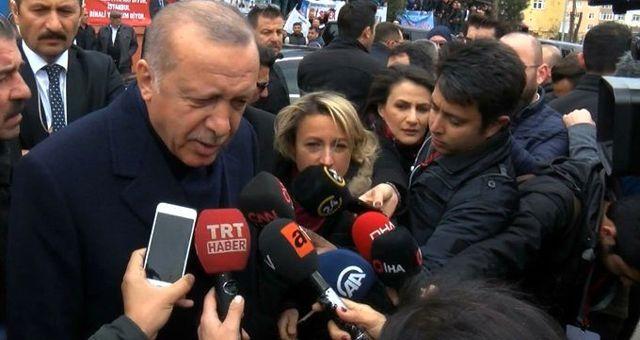 Son dakika: Erdoğan'dan İmamoğlu'nun verdiği mektupla ilgili ilk açıklama