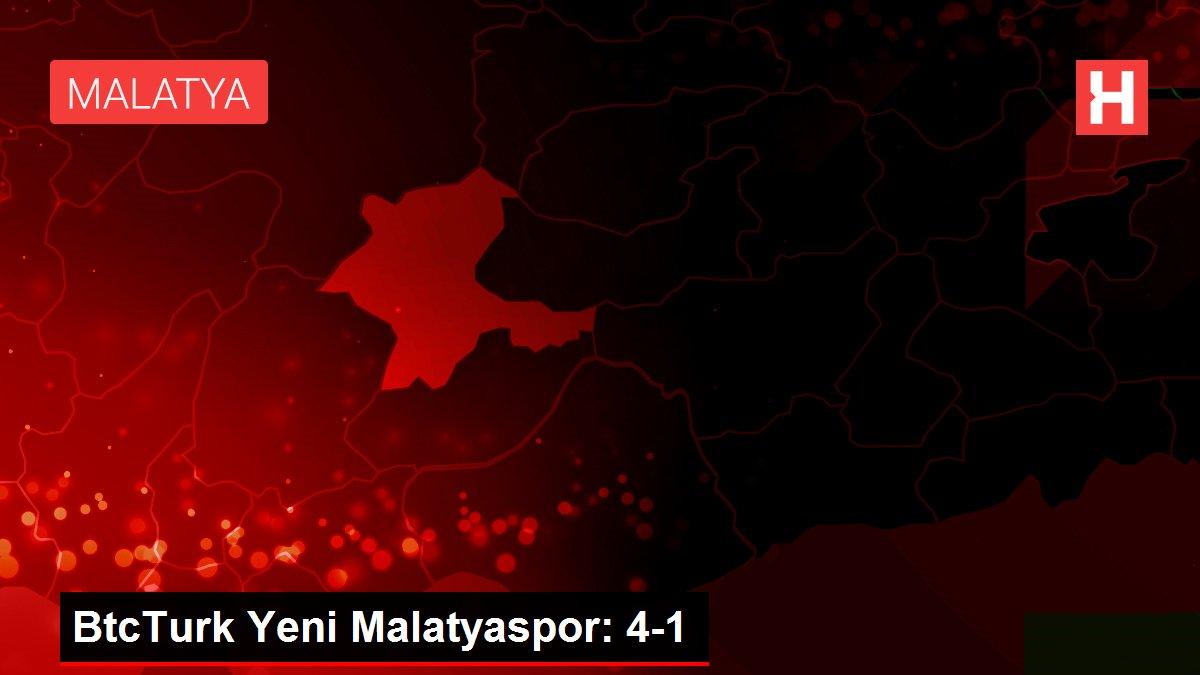 BtcTurk Yeni Malatyaspor: 4-1