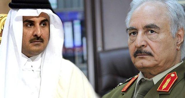 Katar, Libya'nın doğusunda petrol üretiminin durdurulmasını şiddetle kınadı