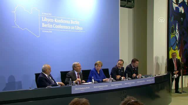 Libya konulu Berlin Konferansı sona erdi - BM Genel Sekreteri Guterres