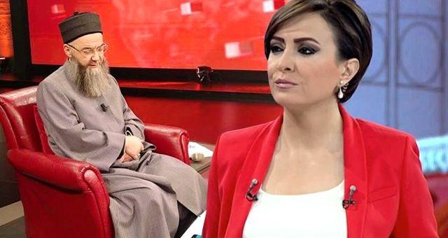 Cübbeli Ahmet Hoca 10 yıl sonra ilk defa bir kadın sunucunun programına katıldı