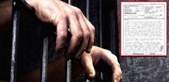 Bir cezaevi mahkumu mektup yazarak yardım istedi: Cinsel organım yok ama cinsel suçtan ceza aldım