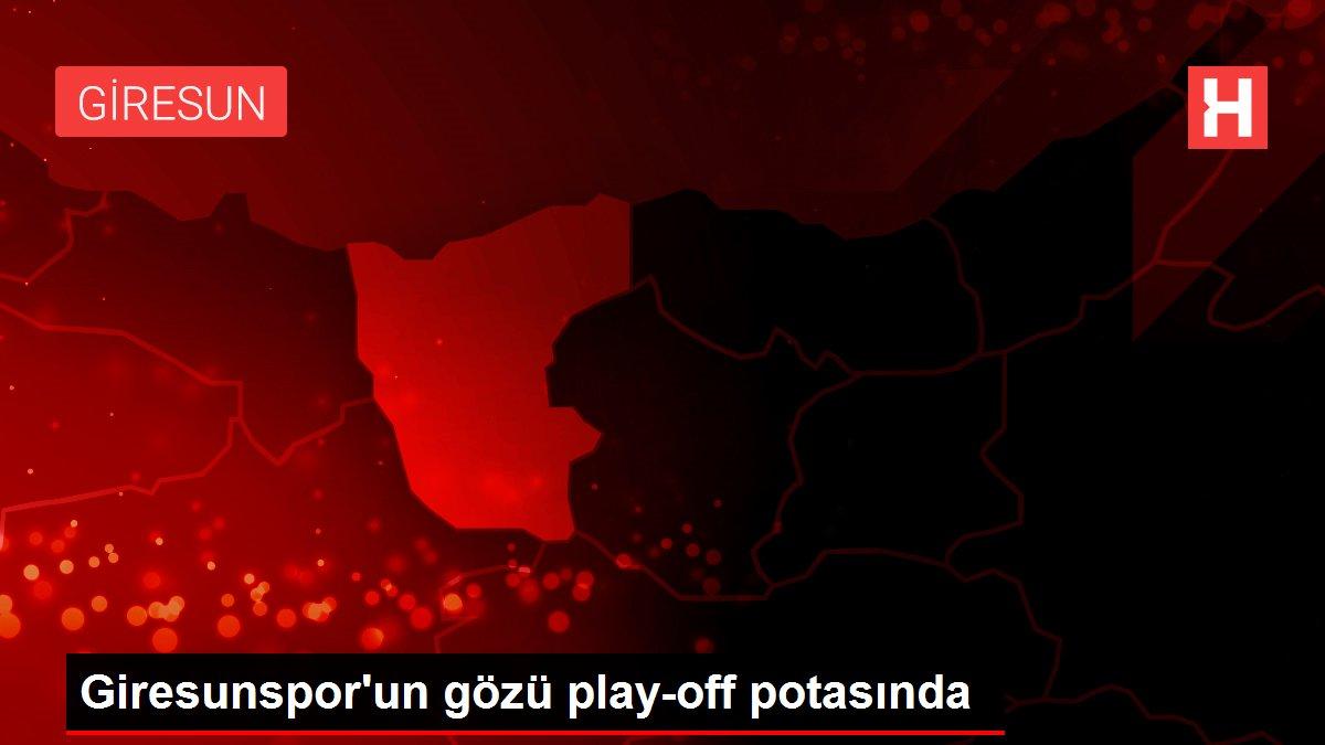 Giresunspor'un gözü play-off potasında