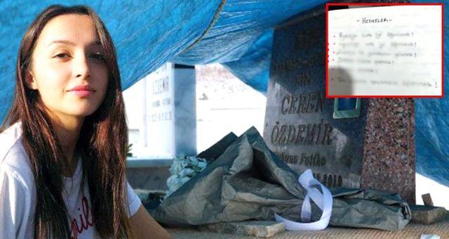 Ölümüyle Türkiye'yi yasa boğan Ceren Özdemir'in günlük notları ortaya çıktı
