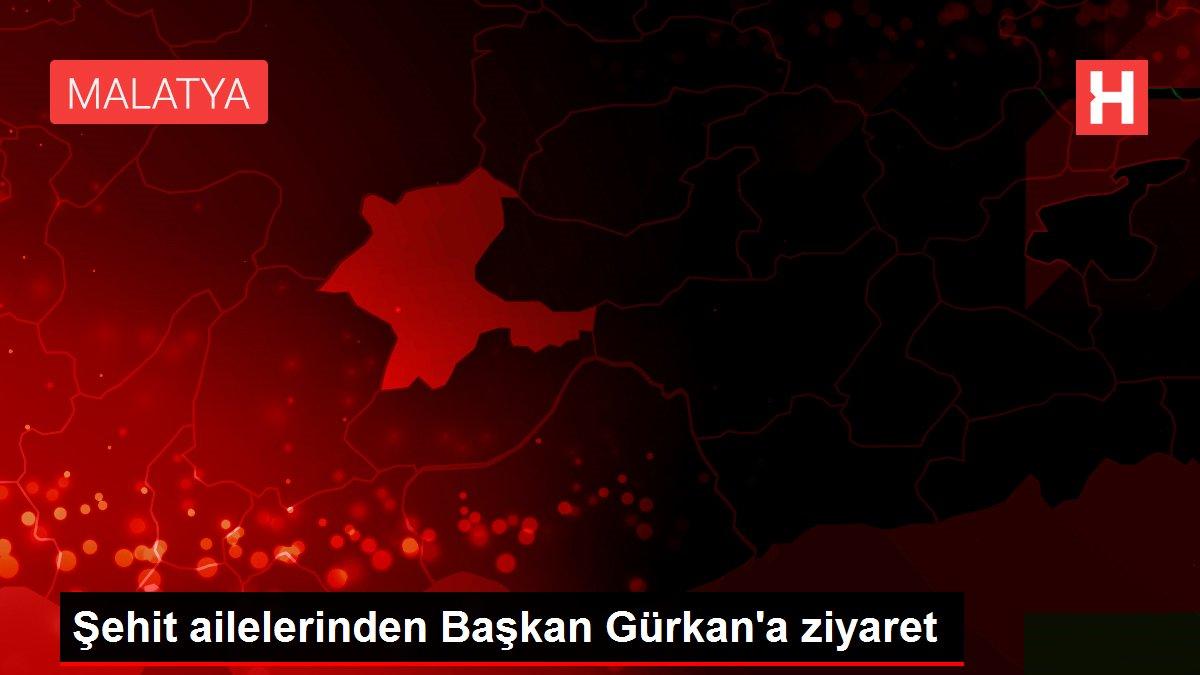 Şehit ailelerinden Başkan Gürkan'a ziyaret