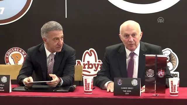 Trabzonspor Başkanı Ağaoğlu, basın mensuplarının gündemdeki konularla ilgili sorularını yanıtladı...