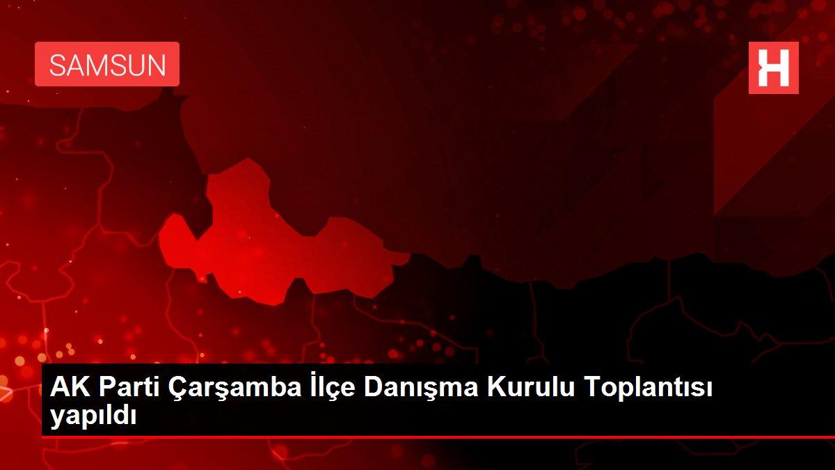 AK Parti Çarşamba İlçe Danışma Kurulu Toplantısı yapıldı