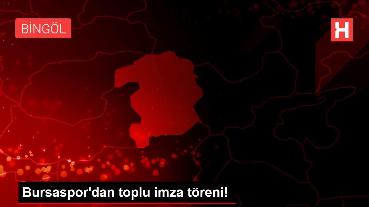 Bursaspor'dan toplu imza töreni!
