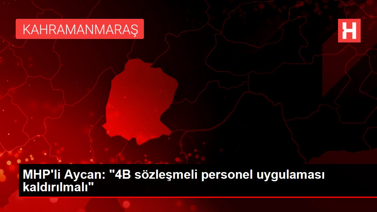 MHP'li Aycan: