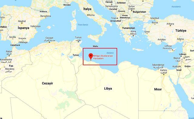 Mitiga Havalimanı nerede? Hafter milislerinin vurduğu Mitiga Havalimanı nerededir?