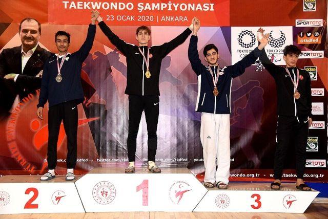 Muhammed Ateş, Türkiye üçüncüsü oldu