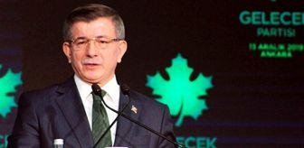 TBMM Başkanı Şentop, Davutoğlu'nun,