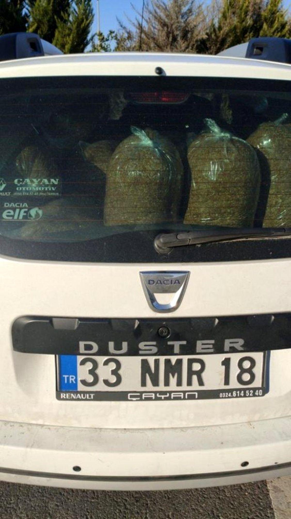 Adana'da 135 kilo kaçak tütün ele geçirildi